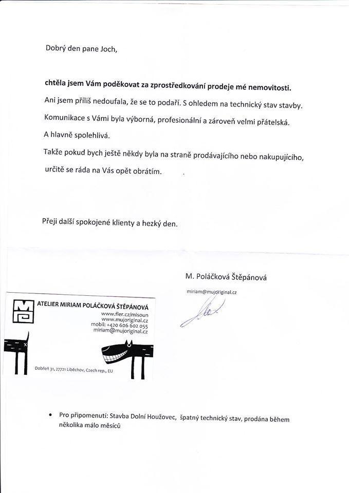 Prodej domu Dolní Houževec  - Poláčková