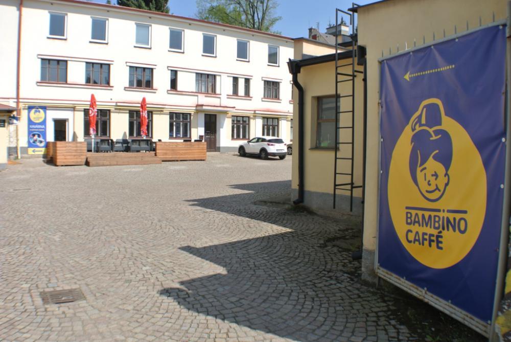 Pronájem kavárny Bambíno Litomyšl