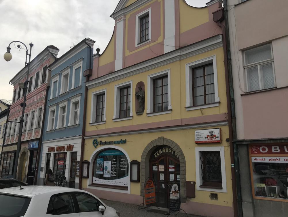 Pronájem obchodních prostor Litomyšl
