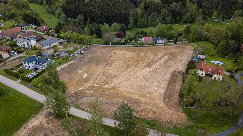 Stavební pozemek Janov -  č.1